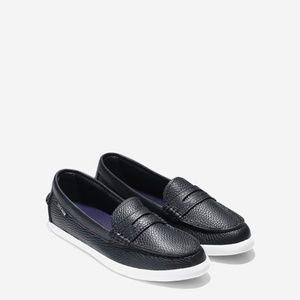 Cole Haan Leather Nantucker Loafer in Black